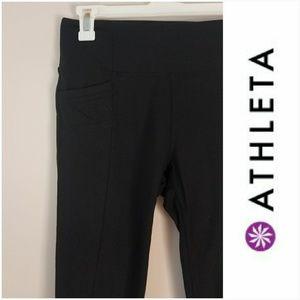 Athleta   Black Yoga Pants  [Pants]
